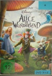 Alice im Wunderland auf DVD