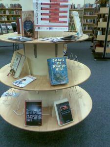 Büchertisch zu den Literaturtagen 2010