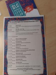 Veranstaltungen im Sommerleseclub Kamp-Lintfort