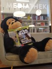 4. Coco kennt sich aus und findet sein Lieblingsbuch